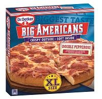 Dr. Oetker Big Americans XL Double Pepperoni & Spicy Chicken