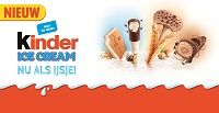 Kinder Ice Cream introduceert vier ijsjes